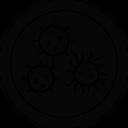 Coronavirus Corona Covid 19 Icon
