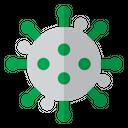 Bacteria Infection Coronavirus Icon