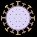 Coronavirus Virus Bacteria Icon