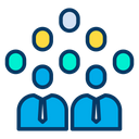 Corporate Users Icon