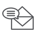 Correspondence Email Mail Icon