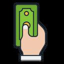 Corruption Black Money Icon