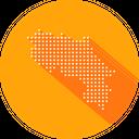 Costa Rica Map Icon