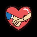 Propose Love Heart Icon
