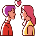 Couple Man Woman Icon