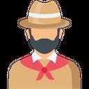 Cowboy Human Man Icon