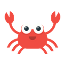 Crab Seafood Animal Icon