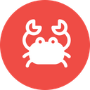 Crab Cancer Seafood Icon