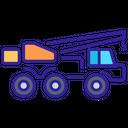 Crane Construction Technology Icon