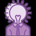 Creative Head Idea Icon