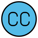 Creative Commons Cc Sign Icon
