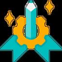 Graphic Design Creative Tool Icon