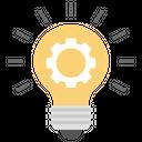 Creative Idea Innovative Plan Financial Idea Icon