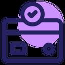 Ecommerce Credit Card Marketing Icon
