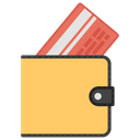Credit Card In Wallet Icon