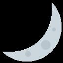 Crescent Moon Mark Icon