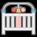 Crib Sleep Bed Icon