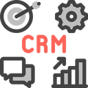 Crm Sales System Icon