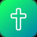 Cross Christain Religion Icon
