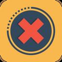 Cross Decline False Icon