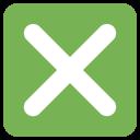 Cross Mark Button Icon
