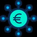 Crowdfunding Euro Icon