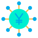 Crowdfunding Yen Icon
