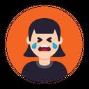 Cry Crying Sad Icon