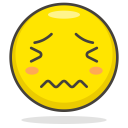 Cry Sad Face Icon