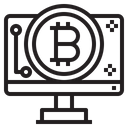Cryptocurrency Business Icon