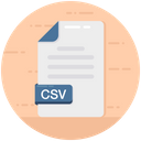 Csv File Icon