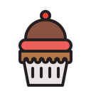 Cup Cake Cake Sweet Icon