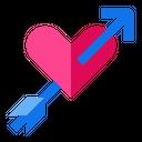 Cupid Valentines Arrow Icon