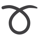 Curly, Loop Icon