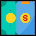 Money Smartphone Payment Icon