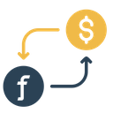 Currency Money Conversion Icon
