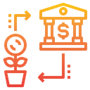 Currency Money Bank Icon