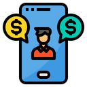 Currency Exchange Agent Icon
