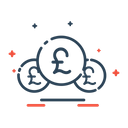 Currency Pound Finance Icon