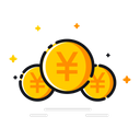 Currency Yen China Icon
