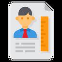 Curriculum Vitae Resume Portfolio Icon