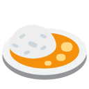 Curry Rice Lunch Icon