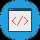 Custom Coding Website Icon