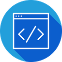 Custom Coding Website Icon