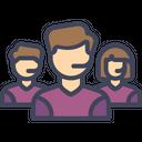 Customer Support Service Icon