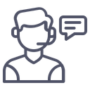 Customer Support Service Icon