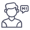 Customer Communication Message Icon