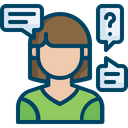 Customer Questions Query Icon