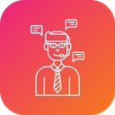 Customer Supprot Consultant Icon