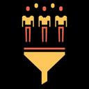 Customer Funnel Icon